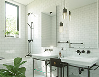 Bathroom in the classics