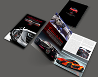 Free A4 Cars Brochure Template