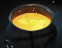 C4D Simple Boiling Liquid - Cinema 4D Halloween ⭐