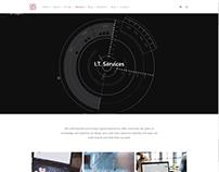 Services 4 Columns Page - IT WordPress Theme