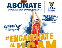 Campaña Abonados UCAM CB - Liga Endesa 2015/16