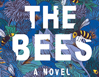 The Bees - Illustrated Book Cover