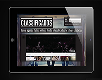 Classificados Music Band | Website