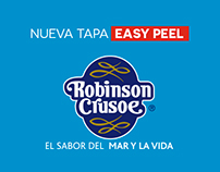 Comercial Robinson Crusoe food