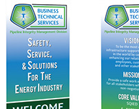 Business Technical Services Print Collateral