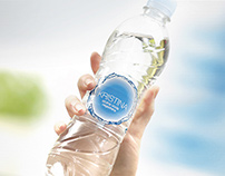 Packaging design for water Kristina