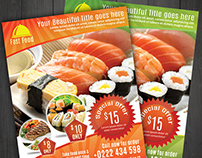 Modern Food Flyer Template