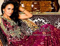 Asim Jofa Luxury Eid Lawn Collection 2014.