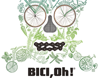 BICI,Oh!® / collage + t-shirt