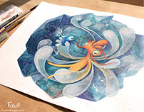 2013 Watercolor illustrations