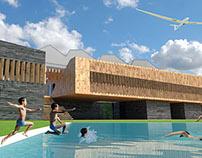 Concurso de un Edificio Polideportivo en Arroniz