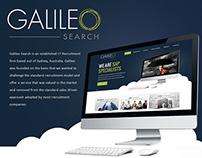 Galileo Search Website Design