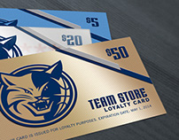 Gift Cards for NBA Charlotte Bobcats