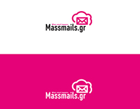 massmails.gr logo creation