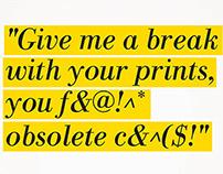 Save The Print