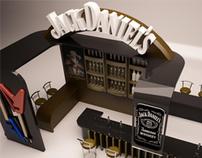 Jack Daniels booth
