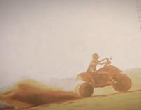 Gilu on The KTM 525