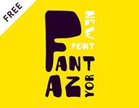 Fantazyor — free typeface