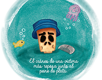 Pop up Book: La Sirena del Faro de Bahía