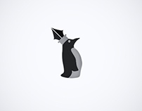 Pope Penguin Logo Design