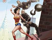Sensation Comics #2, Feb 42 - Wonder Woman Recreation