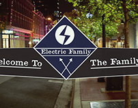 Electric Family Poster