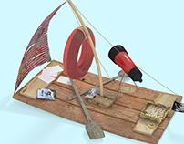 Explorer's boat