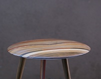 Solid Wood Fine Stool