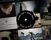 Web Portfolio for Video Director Maria Juranic