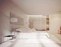 "Bedroom in ""Parus"" residental complex"