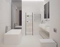 "Bathrooms in ""Parus"" residental complex"