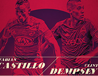 FCD/SEA match poster