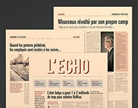 Journal L'Echo