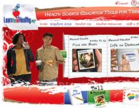 Educational & Diet Health Website for Teens