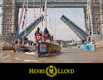 Henri Lloyd Race Winner Poster