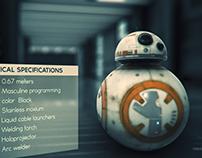 BB-8 Element3D Render