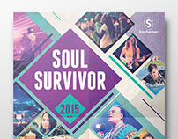 Soul Survivor 2015 Print Design