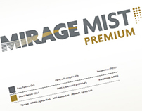 Mirage Mist logotypes