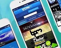 EDMX Festival App