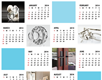 Calendar Postcard & Tradeshow Decor
