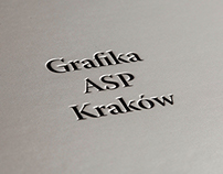 Album Grafika ASP Kraków Graphic Arts Academy of Fine..