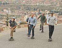 SKATEBOARDING IN LA PAZ — Levi's