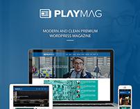 PlayMag - Creative Magazine & Shop WordPress Theme