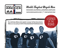 "Race Across America ""Legends of the Road"" Team Poster"