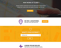 Free PSD, Flat Clean Corporate Layout