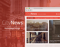CityNews | Homepage News Website Design