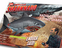 Sharknado Remote Control Shark