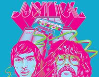 Justice Screenprinted Poster