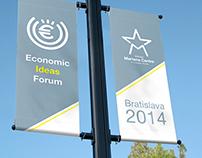 Economic Ideas Forum 2014 Bratislava Design