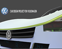 Volkswagen Car concept for video game